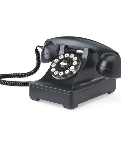 Add The Element Of Retro Designer Style To Your Home Interior With The  Retro 302 Desk Phone By Wild And Wolf. A Reproduction Of The Phone Designed  By The ...