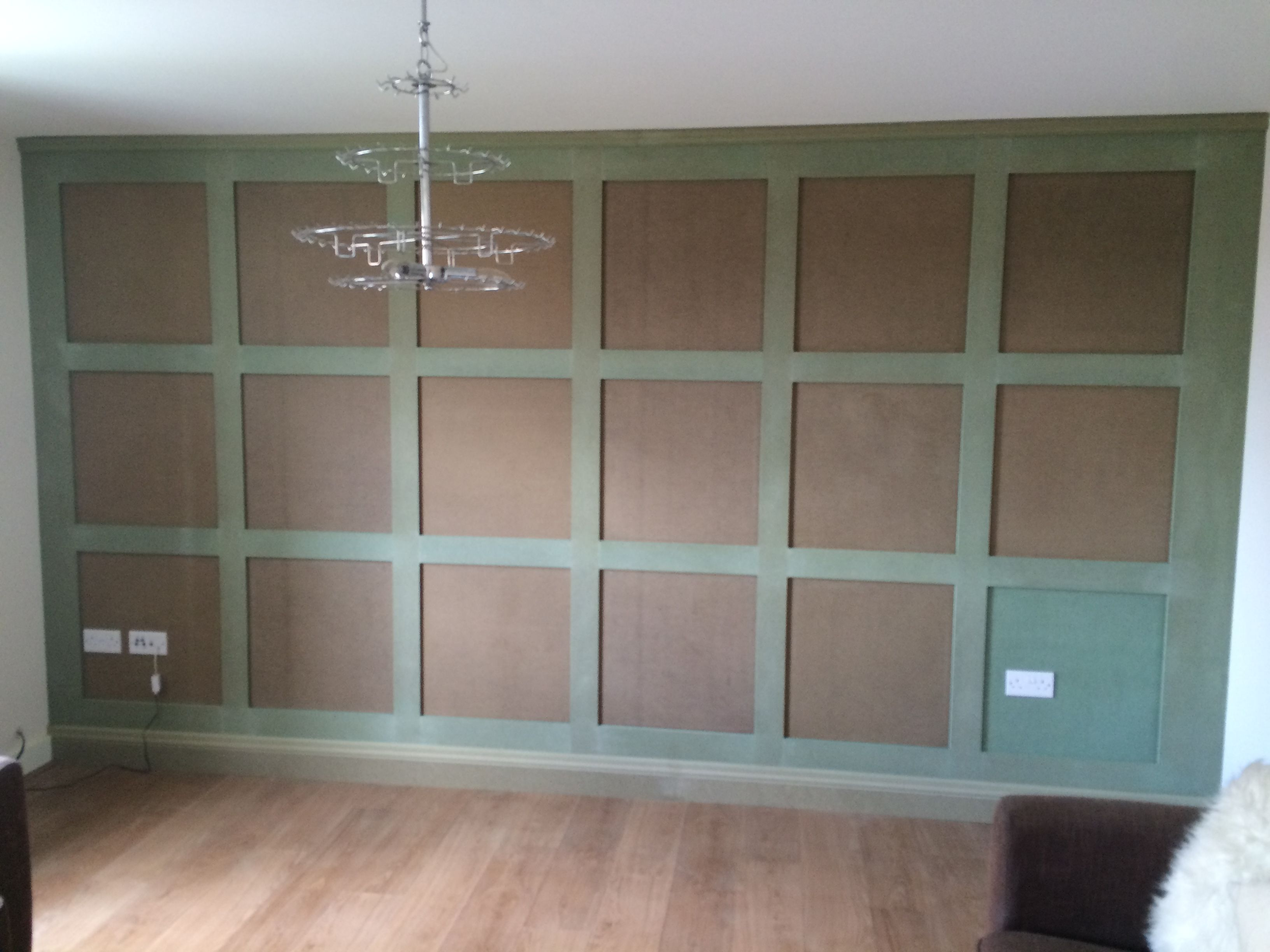 Shaker Panelling Unfinished Ie Ready To Prime And Paint Feature Wall By Wall Panelling Experts Painted Feature Wall Wall Paneling Bedroom Bed Design
