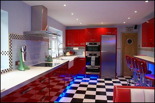 50 S Style Kitchen 50s Hy Days Diner