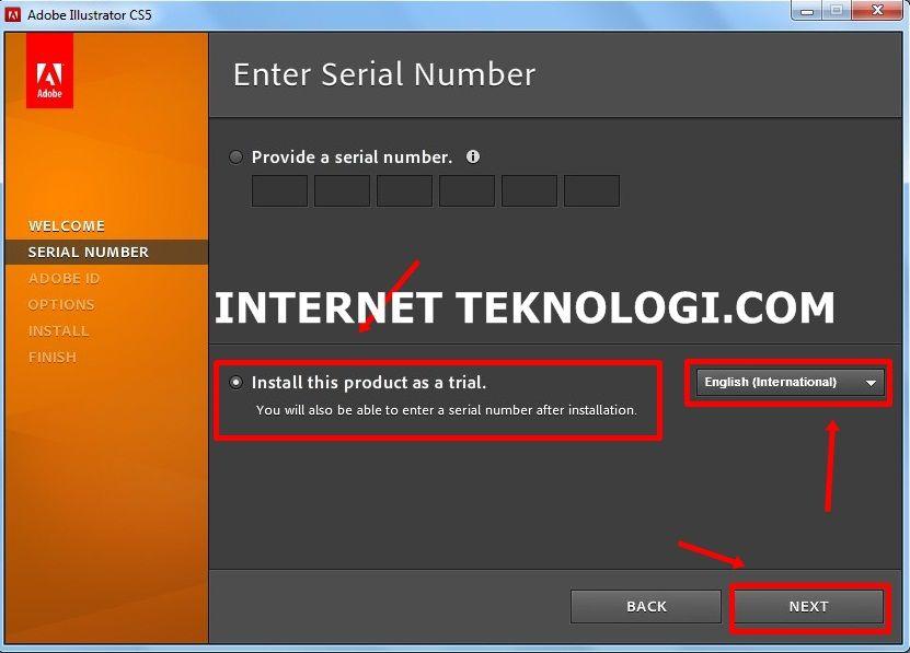 serial number illustrator cs5