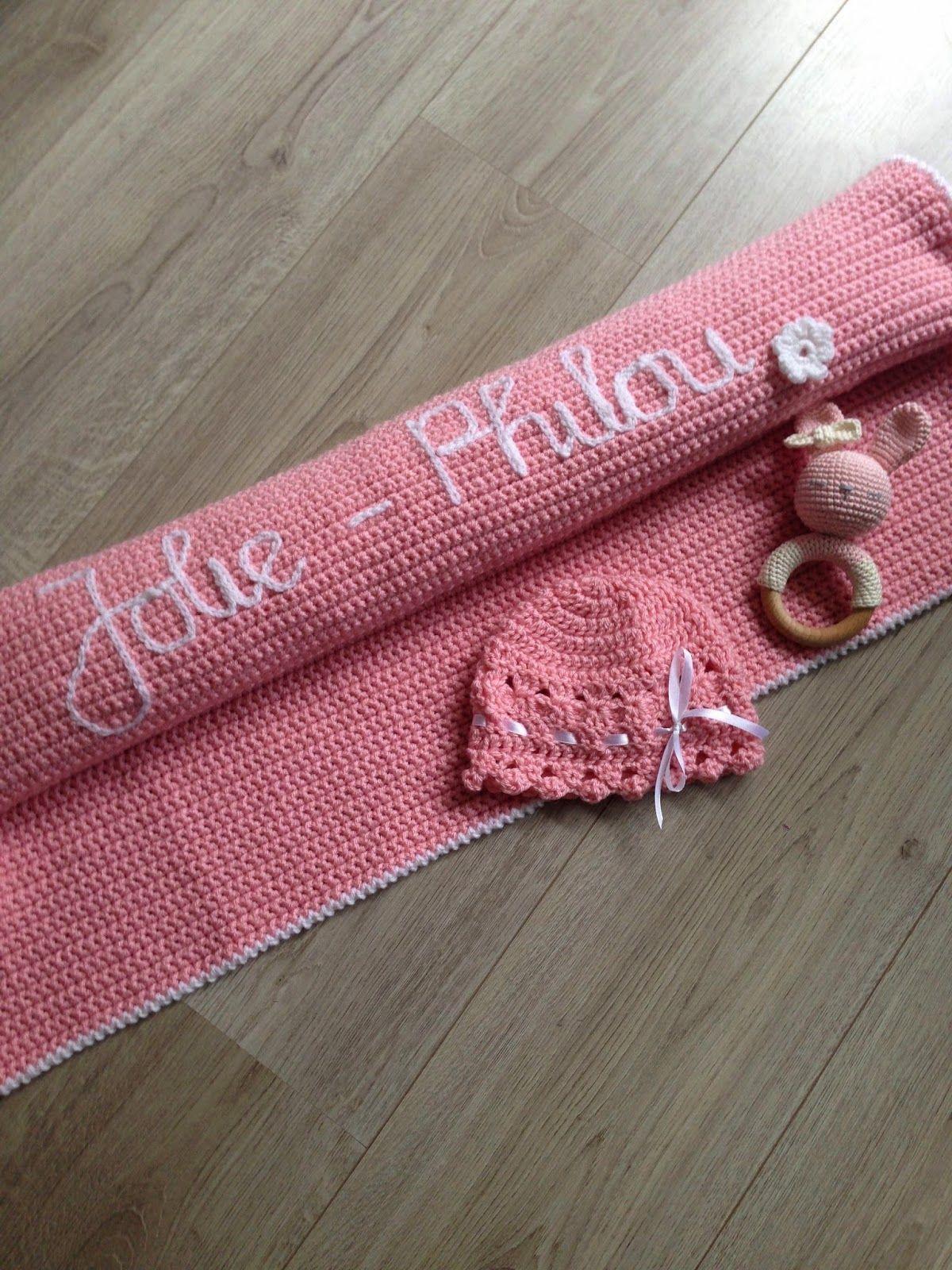 Angels Handmade Deken Met Naam Haken Voor Babys Baby