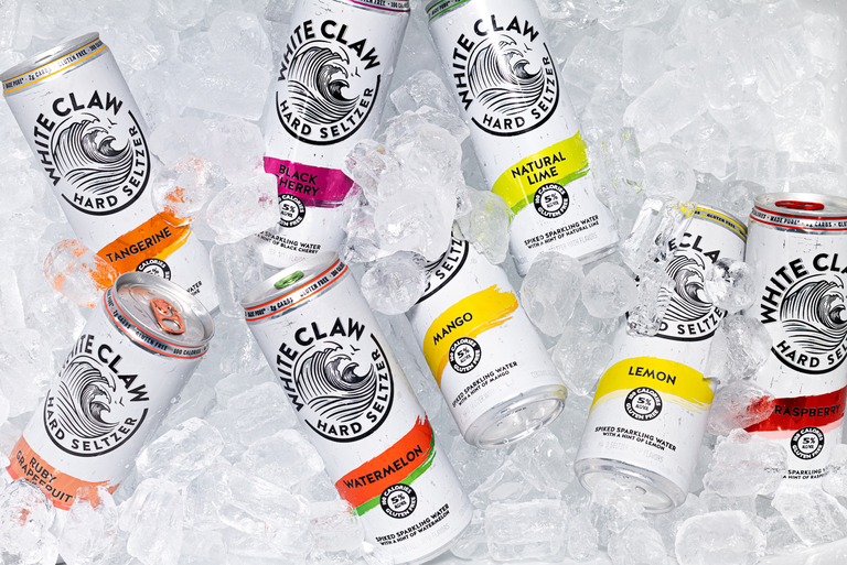 White Claw Finally Created A Lemon Spiked Seltzer Plus Two Other Fruity Flavors Fans Have Been Waiting For Slushies Hard Seltzer White Claw Hard Seltzer