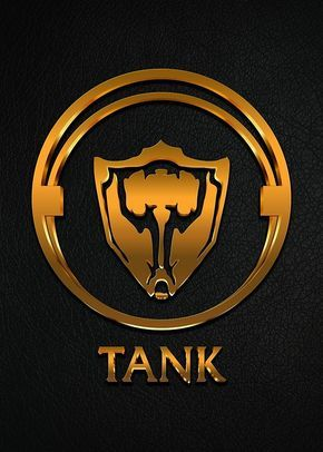 League of Legends TANK  gold emblem  by Naumovski  ecd42f519b8ea