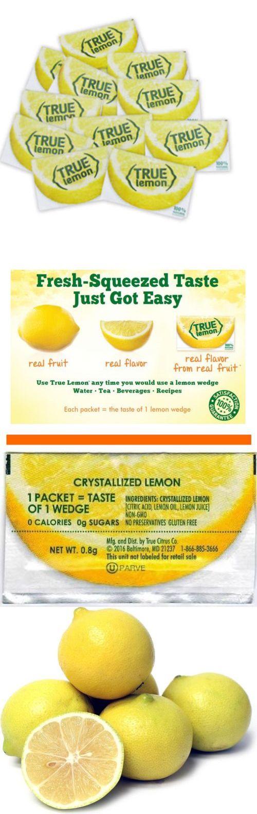 Drink Mixes 179192 True Lemon Bulk Pack 500 Count New Buy It Now Only 12 On Ebay Flavored Lemonade True Lemon Flavors