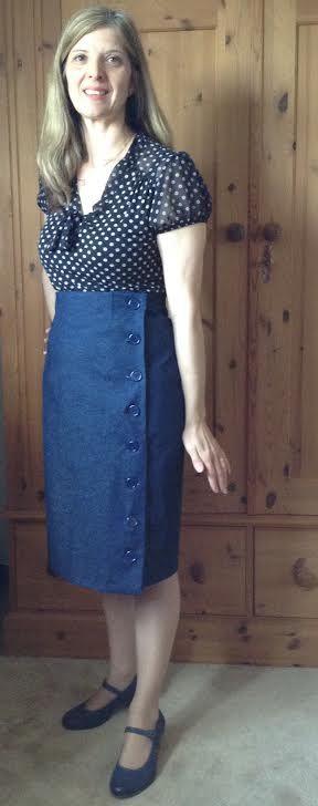 Yvonne's Arielle skirt!