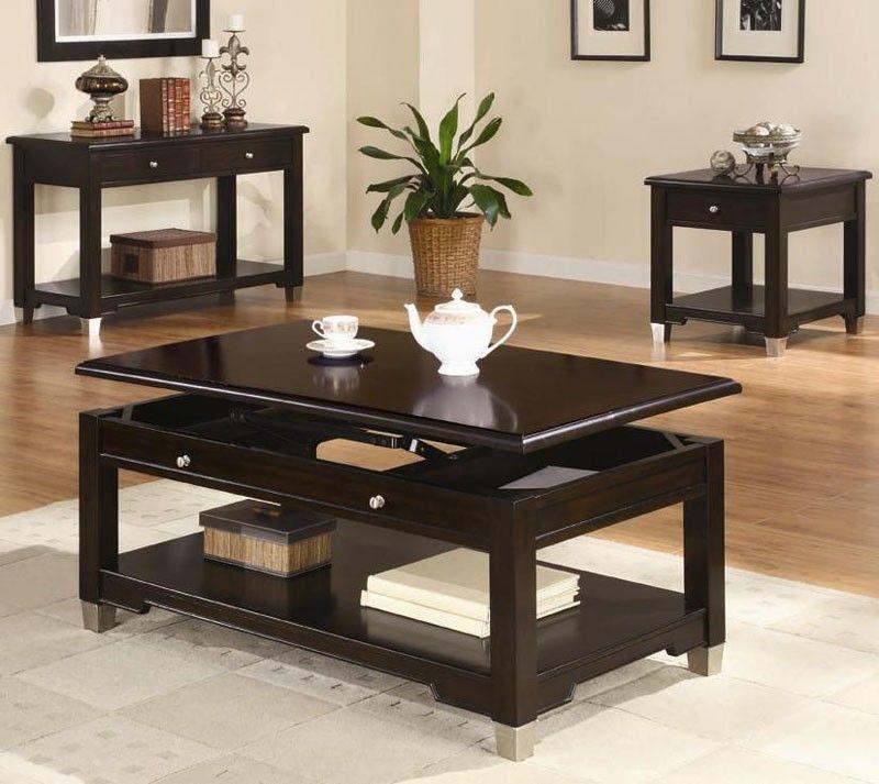 Coaster Furniture   Augusta Coffee Table In Walnut Finish   701198