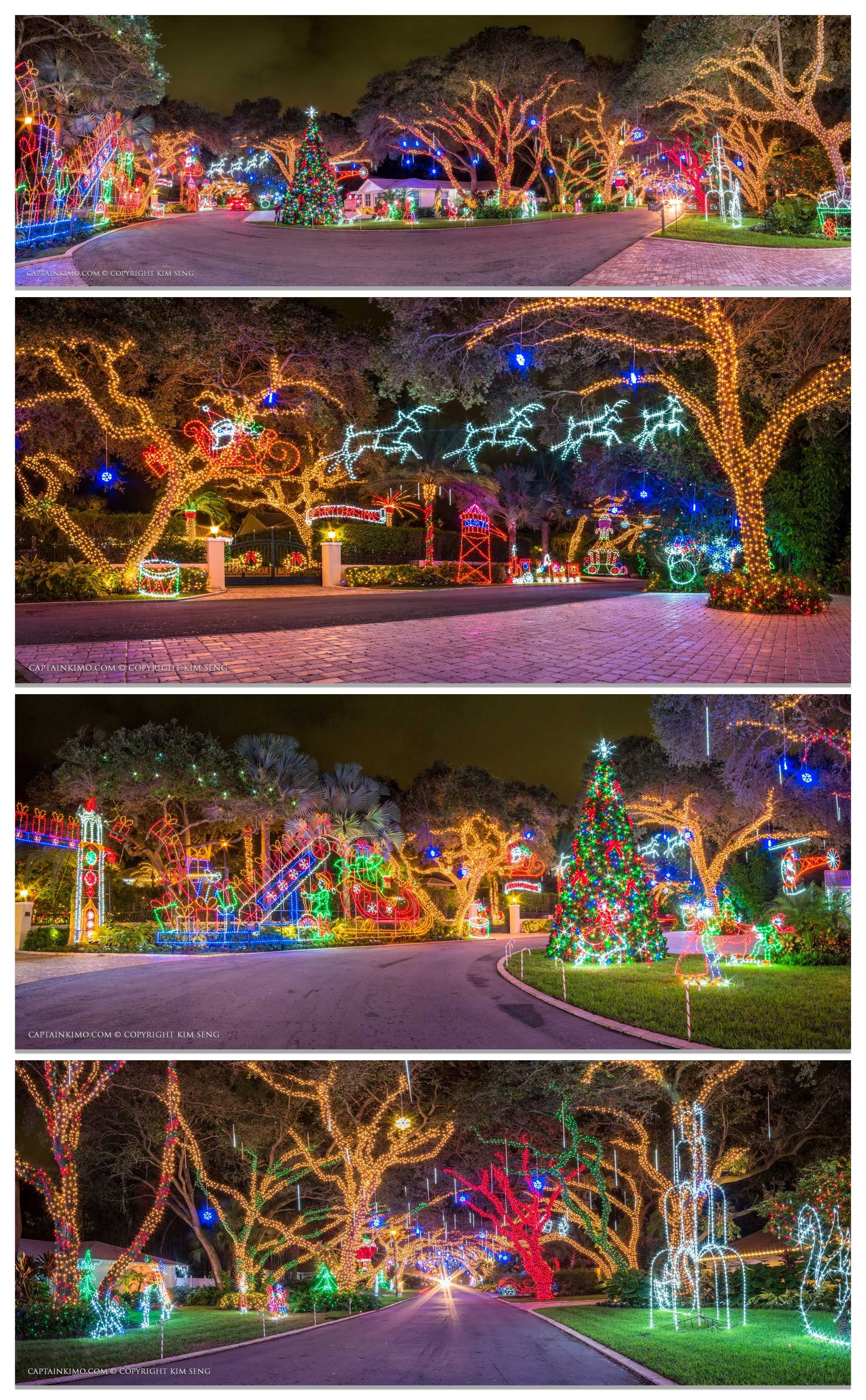 captain kimo snug harborpalm beach countybeach gardenssunshine statechristmas lightsmerry