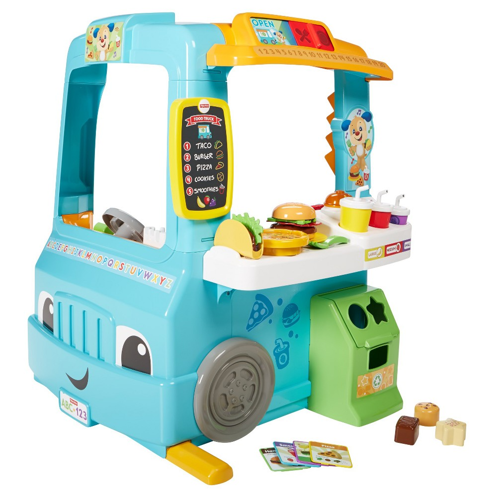 Fisherprice laugh and learn servinu up fun food truck fun food