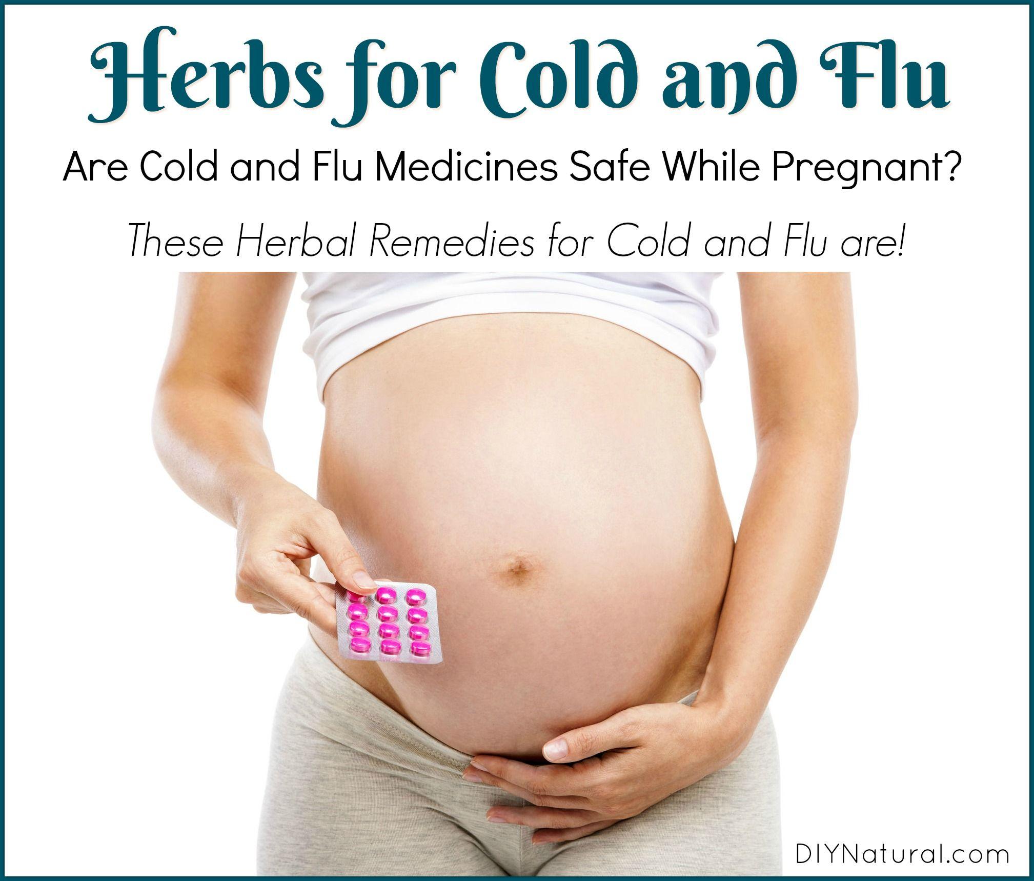 can pregnant take flu medicine