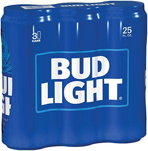 Bud Light, 3 Pk, 25 Oz Cans, 4.2% ABV Bud Light