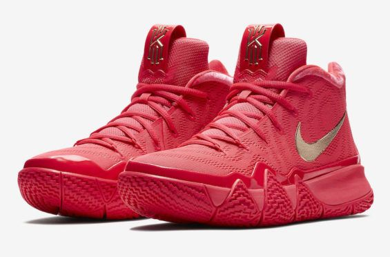 red kyrie shoes