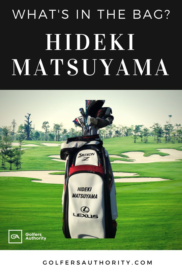 Hideki Matsuyama WITB? (What's in the Bag) | Golf, Golf ...