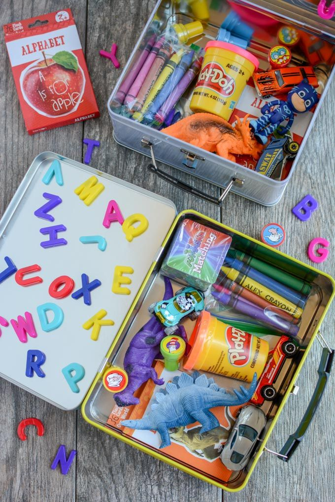 How To Make A Busy Box For Toddlers Kids Travel