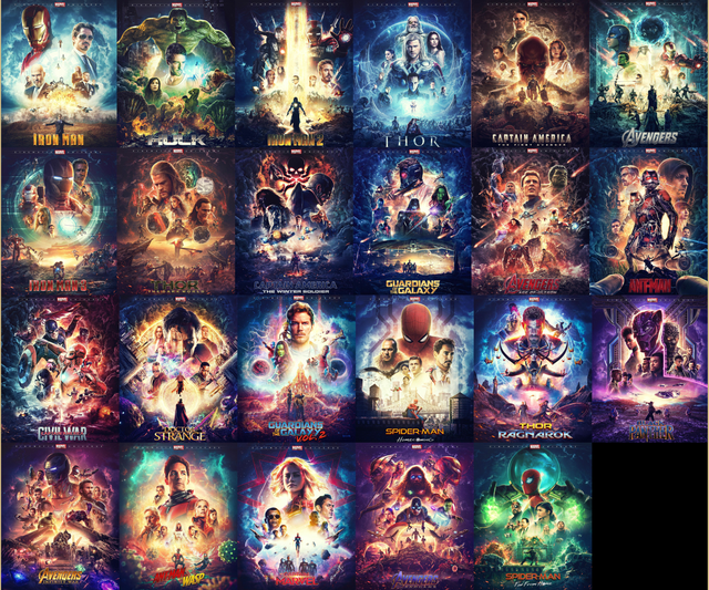 The Infinity Saga, by @merakigrafx