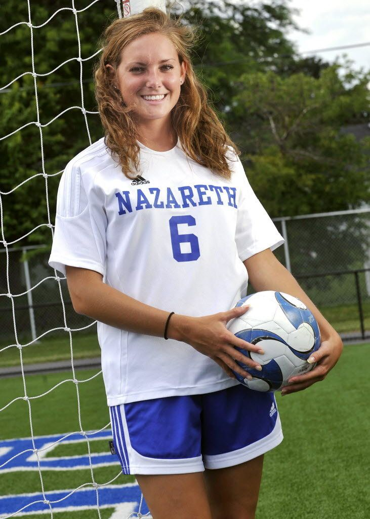 Cassie Denger Of Nazareth Area High School To Play Soccer At Bucknell University Soccer Football Run Play Soccer