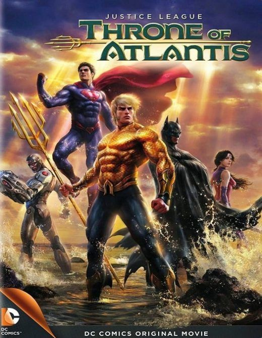 Liga da Justiça -Trono de Atlantis Dublado