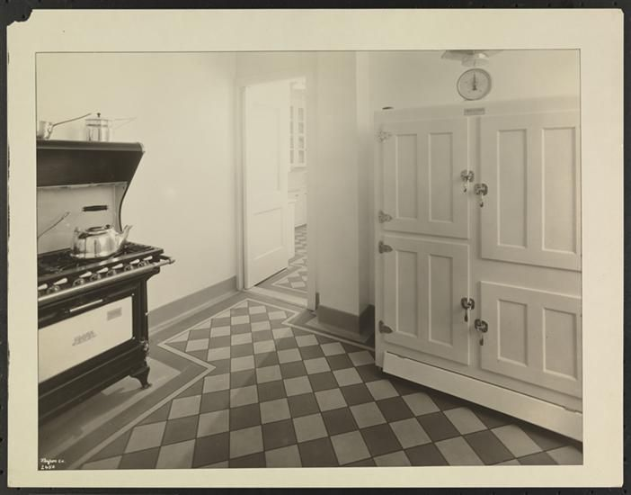 Interior, Kitchen Apt 12B, 1158 5th Ave (ca 1925) - from the Museum ...
