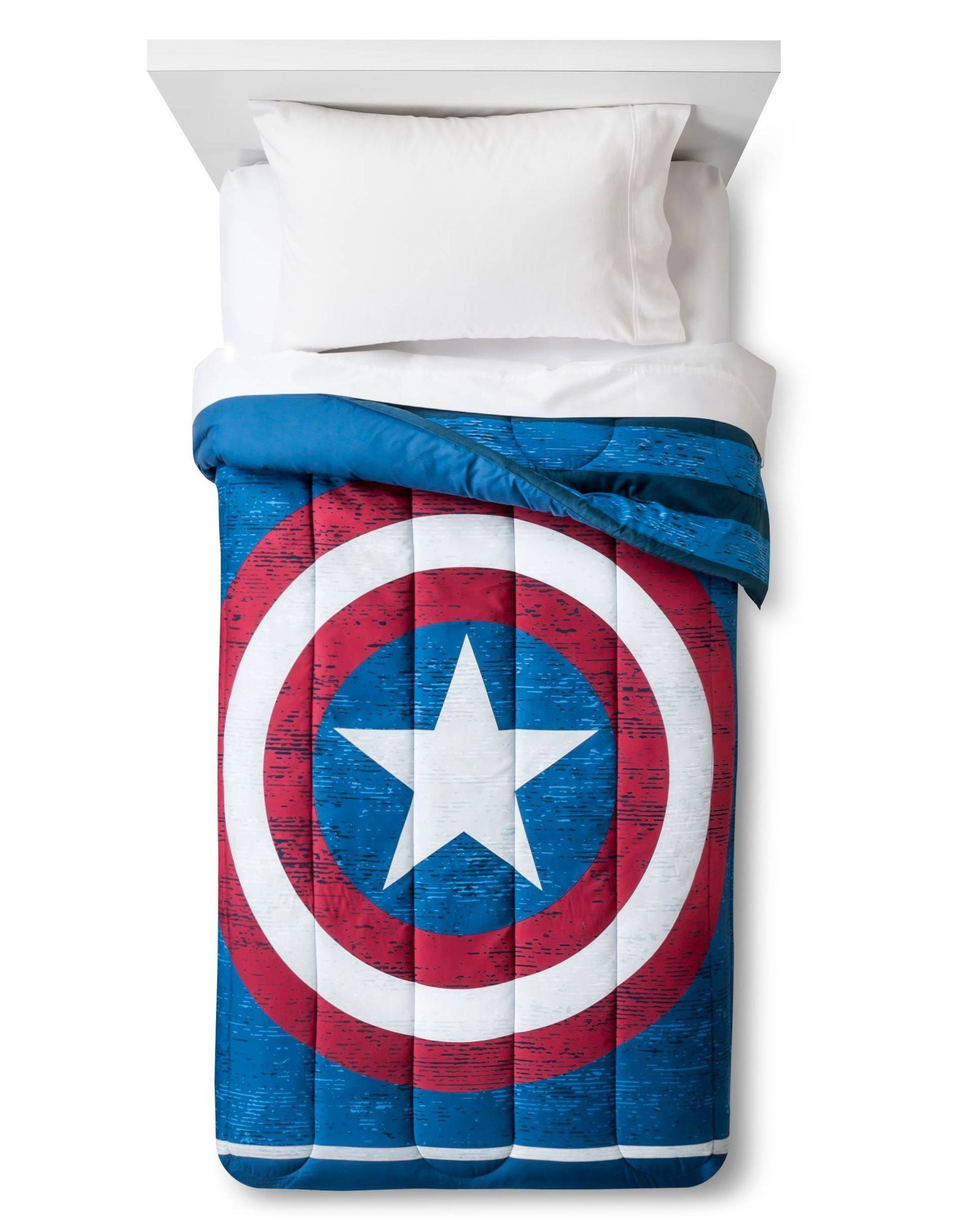 Let Him Snuggle Up With His Favorite Superheroes With The