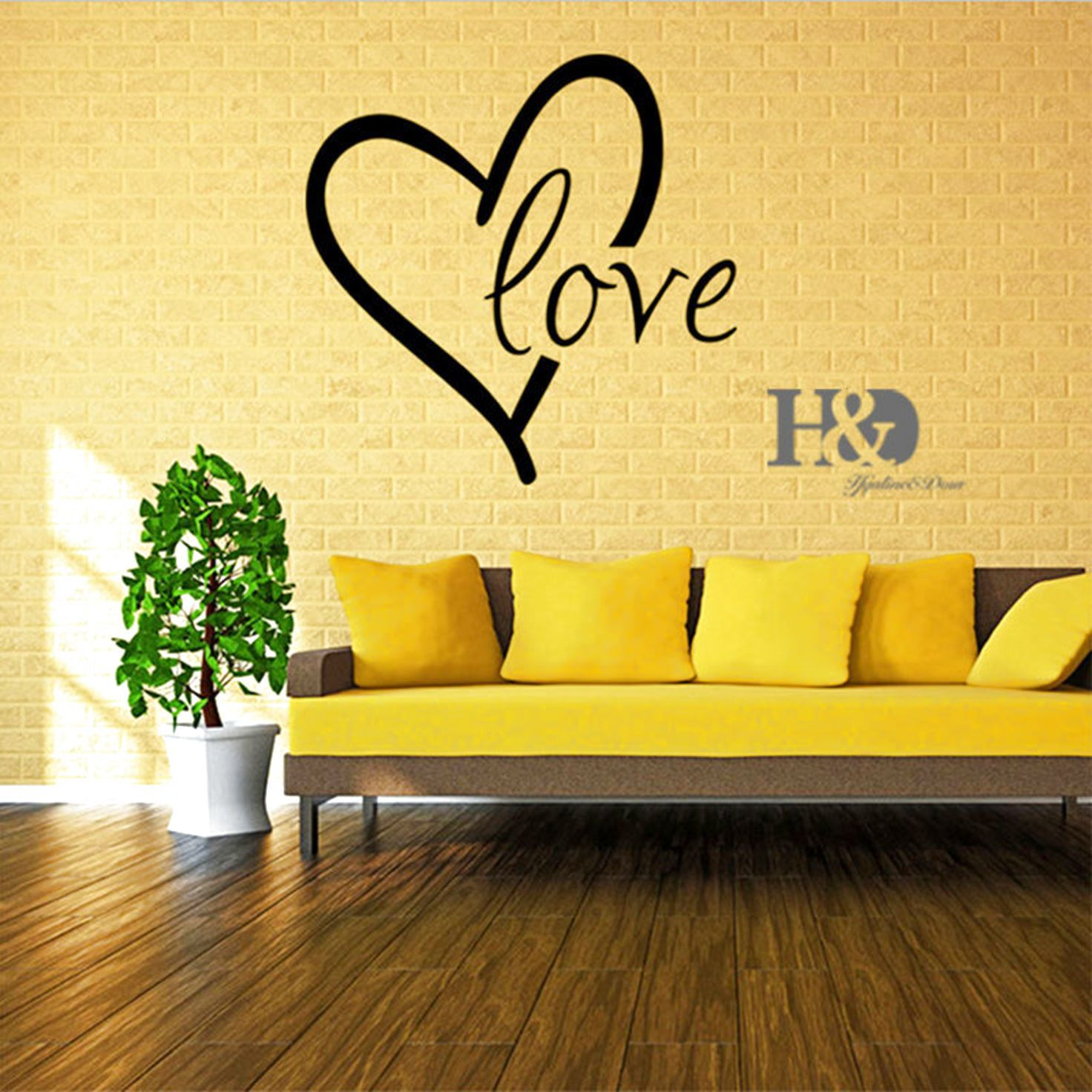 LOVE Vinyl Art DIY Wall Decal Sticker Decor Home Room Removable ...