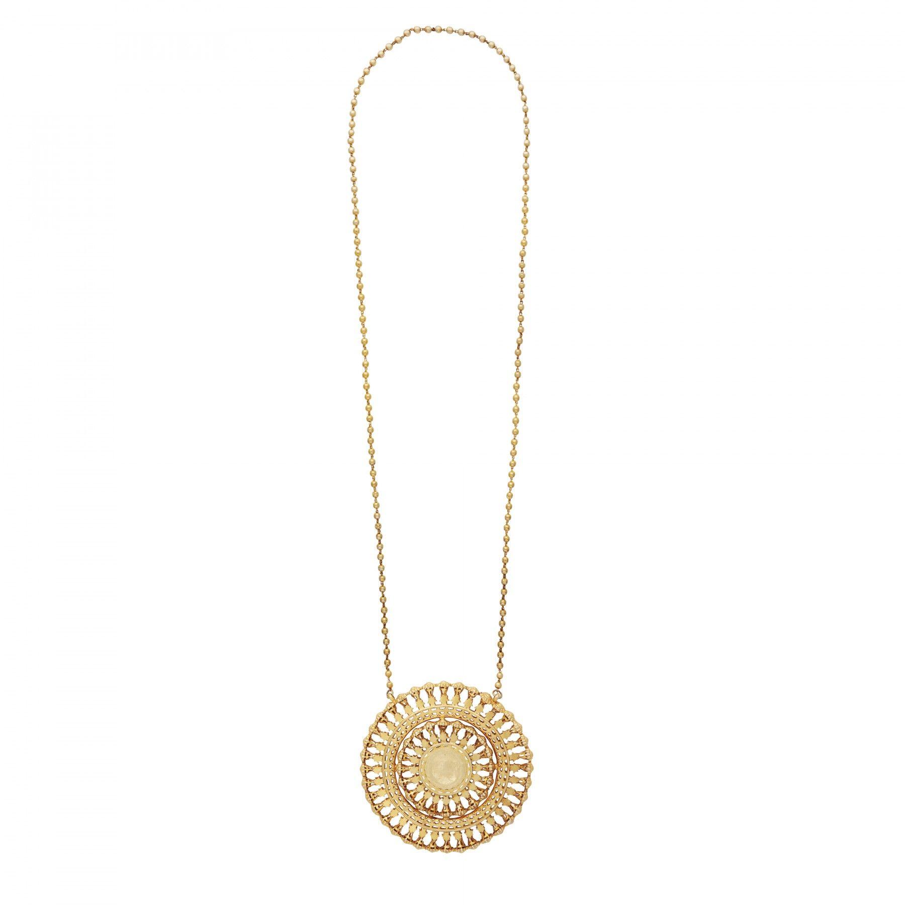 Statement heritage sun god necklace kasturjewels pinterest