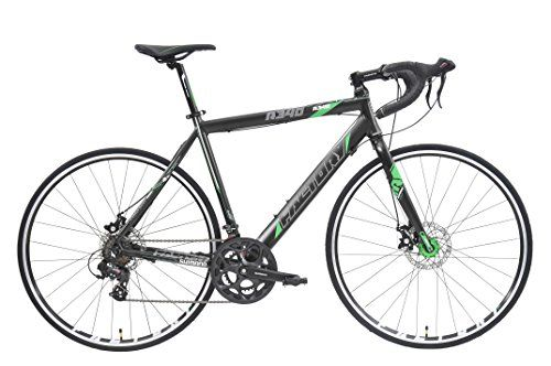 Factory R340 700c 14sp Road Bike Black Green Reflective 57cm Large Bicycle Road Bike Bicycle Maintenance