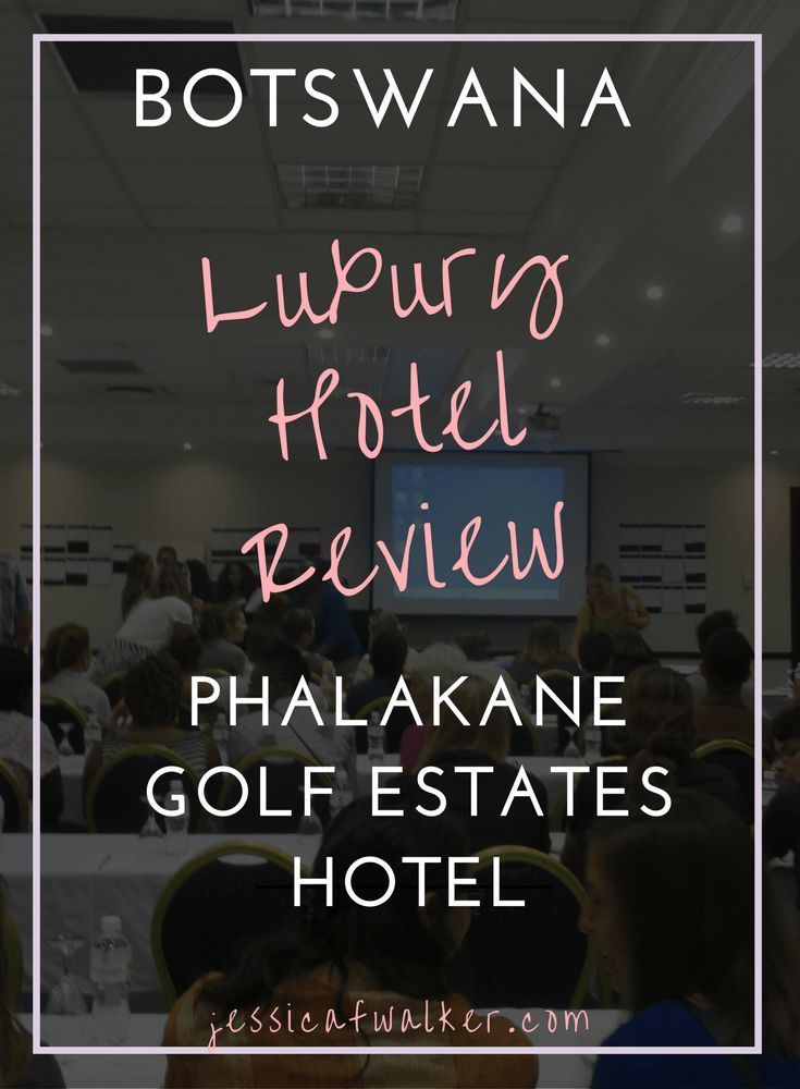 Luxury Hotel Review: Phakalane Golf Estates