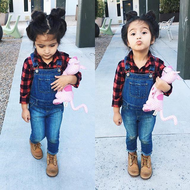 d6a607de63f Bebés que se convertirán en mis gurús de moda Toddler Girls Fashion