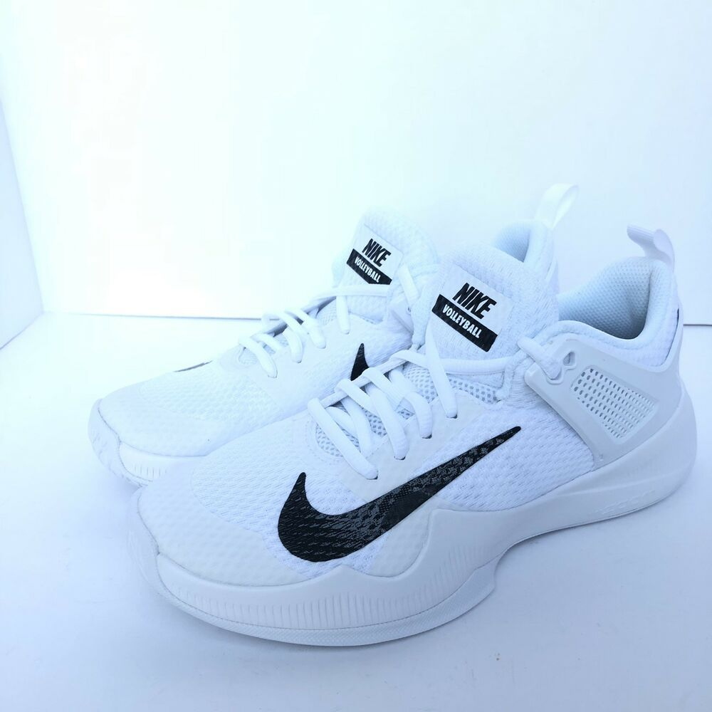 817831f6fc517 Women s Nike Air Zoom Hyperace Volleyball Shoes 902367-100 Size 7 White  Black - Nike