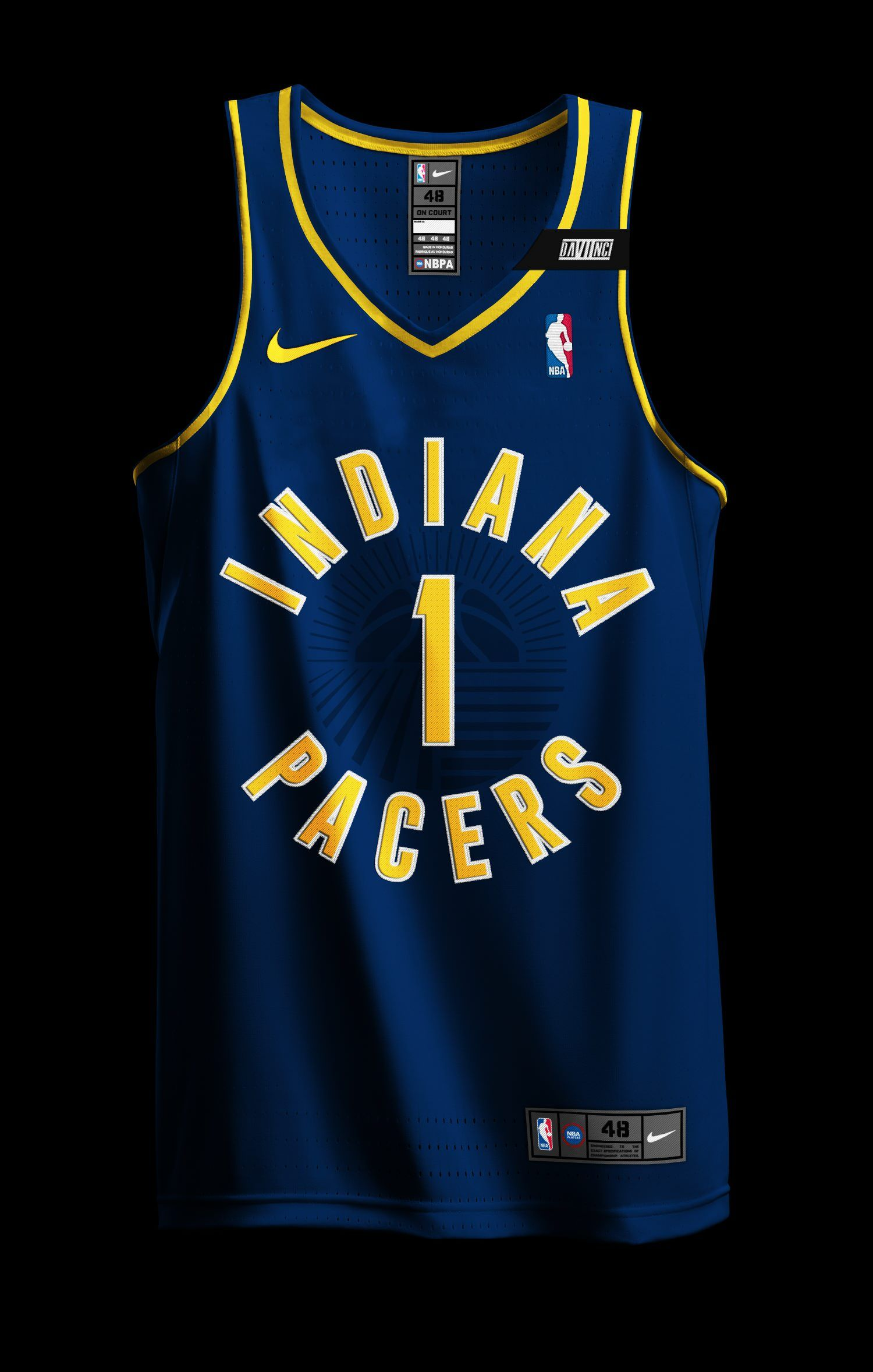 ab656d9b1ae My Post-Uniform Unveiling Nike x Indiana Pacers Jersey Concepts. NBA x NIKE  Redesign Project ...