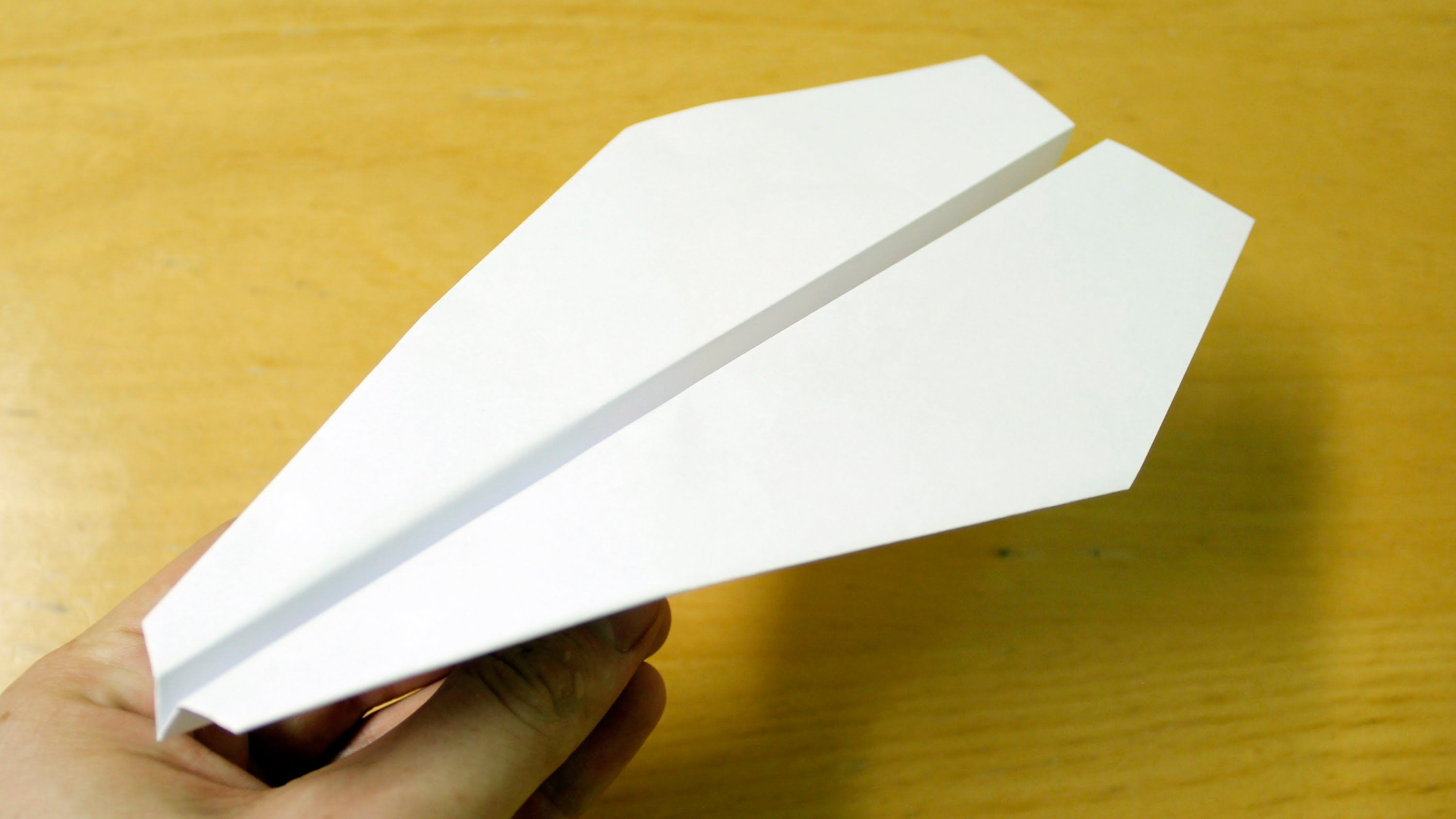 how to make a paper plane that flies far easy