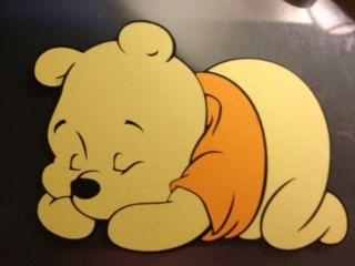 20b9abe4ac353 Sleeping Baby Pooh Die Cut by LittleBigA on Etsy