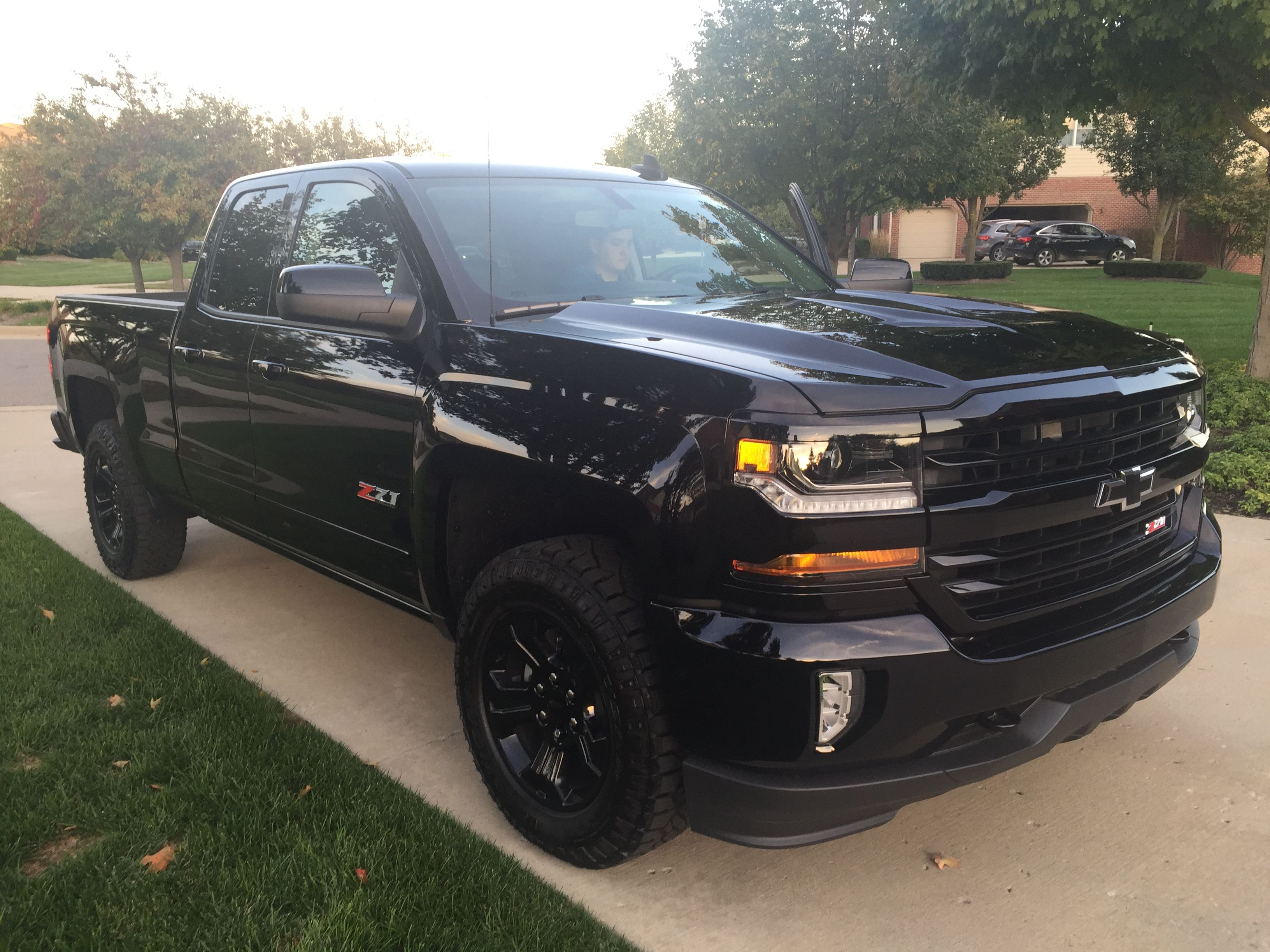 Pin by Brett Loomis on 2016 Chevrolet Silverado Midnight Edition Z71