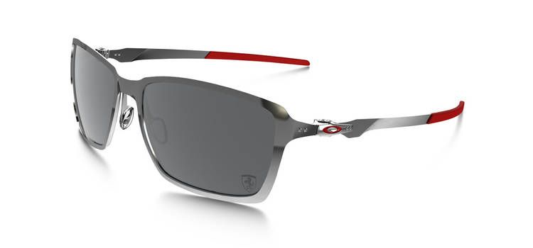 e7db1c35c3384 Oakley Special Edition Scuderia Ferrari® Polarized TinCan - Black Chrome Black  Iridium Polarized