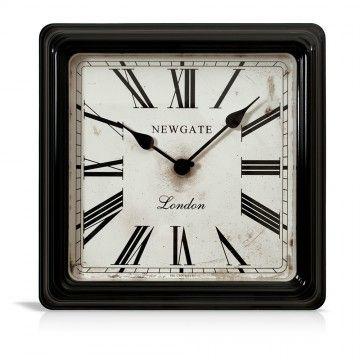 Wanduhr CROUPIER\u0027S CLOCK schwarz - Newgate - neues Zuhause - schöne wanduhren wohnzimmer