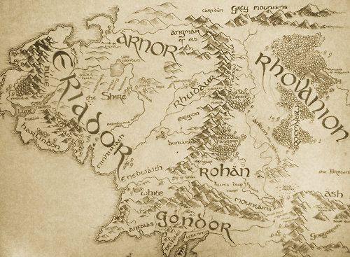 lotr map Tumblr Older Boys Room Pinterest LOTR Hobbit and