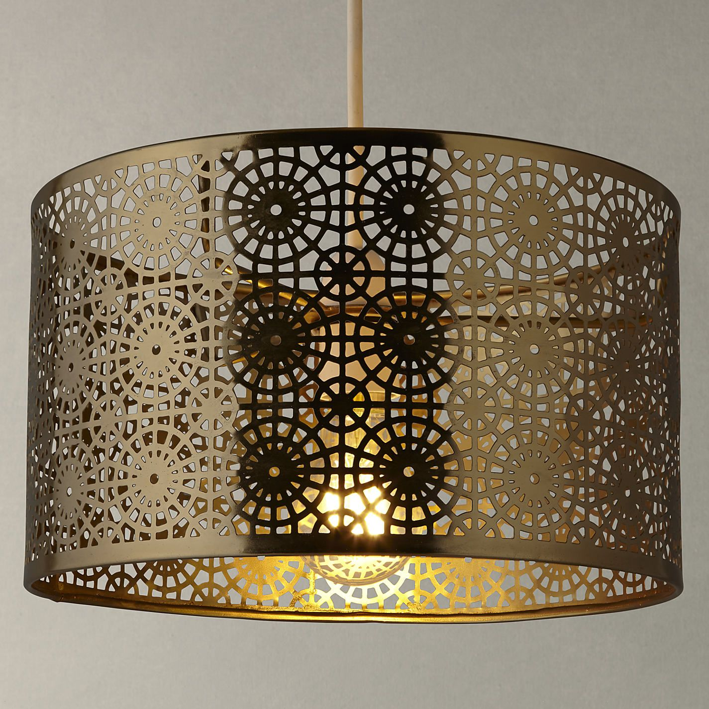 Buy John Lewis Eila Cutwork Shade from our Ceiling & Lamp Shades range at  John Lewis