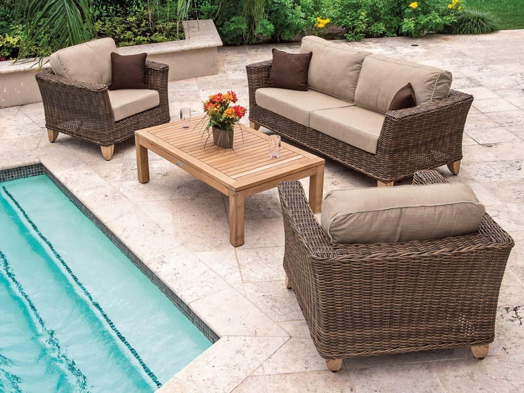 How to Care For Resin Patio Furniture #resinpatiofurniture