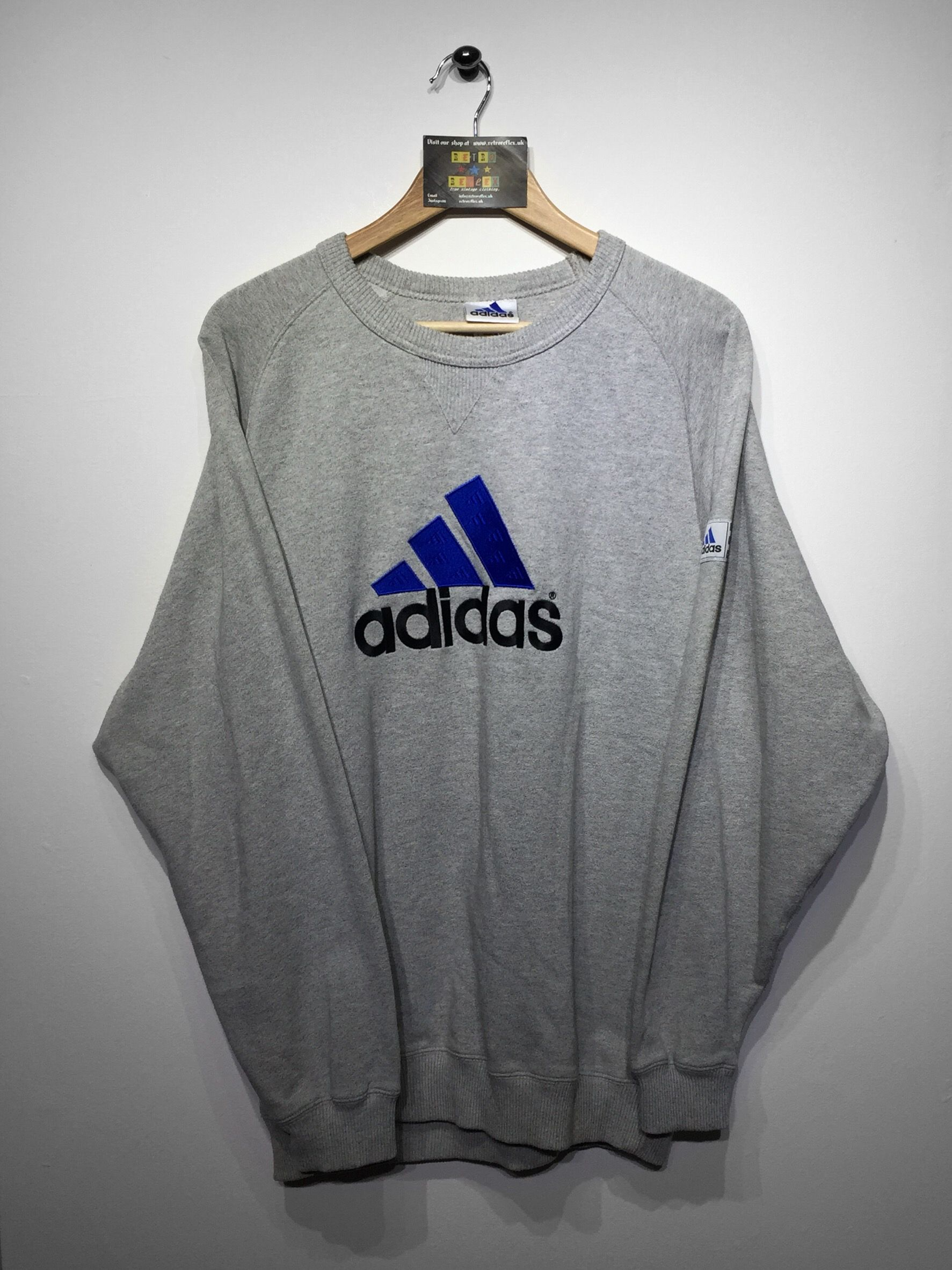 Adidas Sweatshirt size Small (but Fits Baggy Oversized) £34