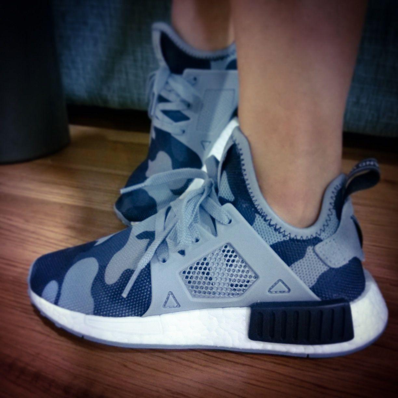 Adidas Originals NMD XR1 Blue Duck Camo | My Kicks | Adidas