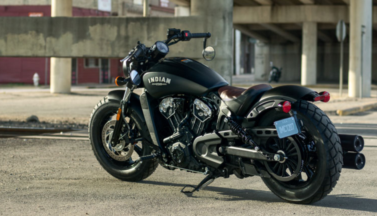 The 7 Best Motorcycles To Ride This Year Indian Motorcycle Bobber Indian Scout [ 732 x 1280 Pixel ]