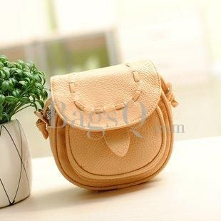 2013 New Arrival Elegant Pure Colour Mini Shoulder/Crosbody Bag: BagsQ.com