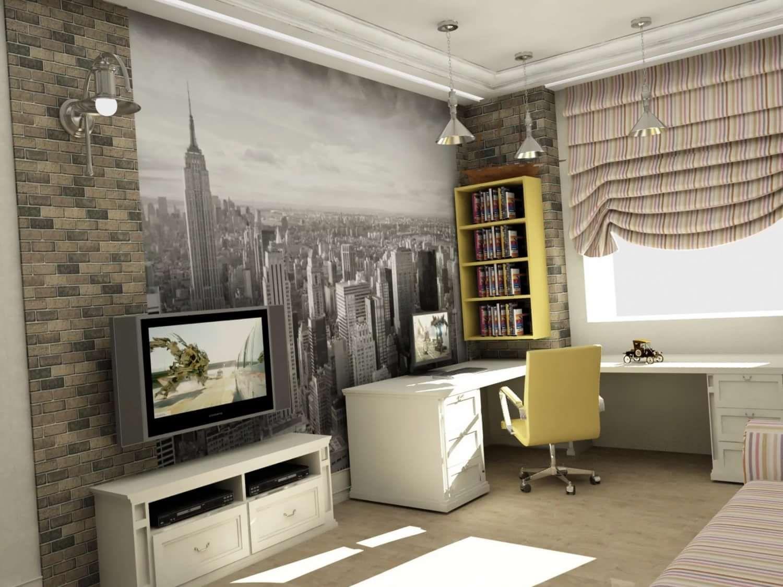 комната для мальчика 10 лет дизайн 5