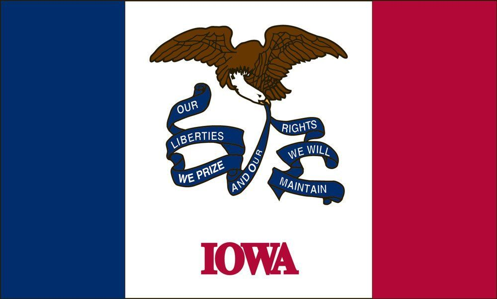 Iowa State Flag Coloring Pages Iowa Flag Coloring Pages Flag