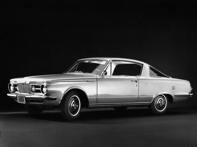 Plymouth Barracuda 1964. The first generation of one of the best ...