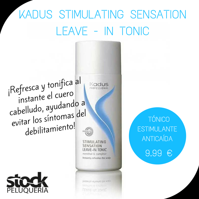 Kadus Professional Stimulating Sensation Leave In Tonic Aceite De Jojoba Cabello Y Uñas Cuero Cabelludo