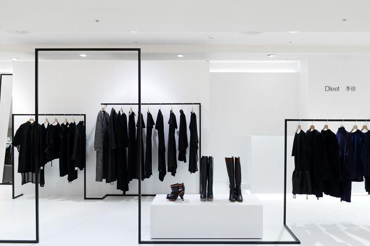 3e123739ad7 Интерьеры бутиков одежды в Тайване вышли на новый уровень: чёрно ...