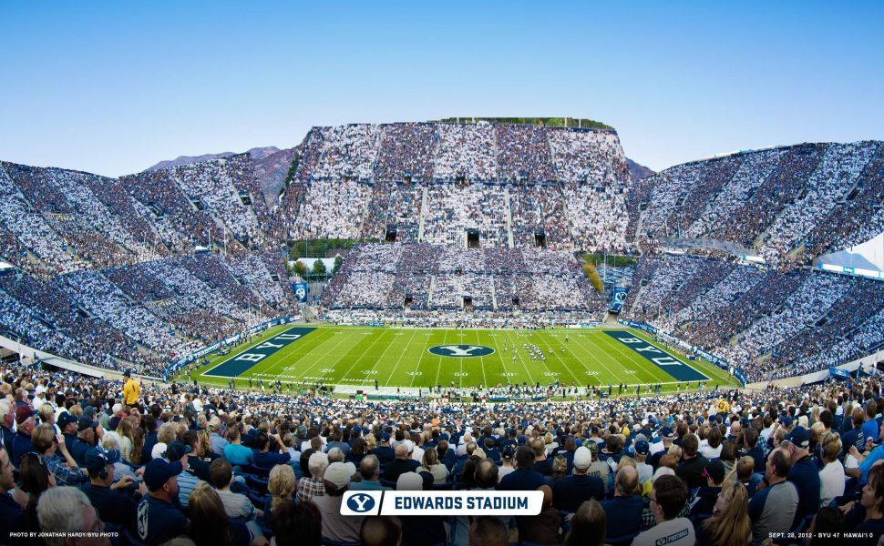 Lavell Edwards Stadium Hd Wallpaper With Images City Photo Photo Hd Wallpaper