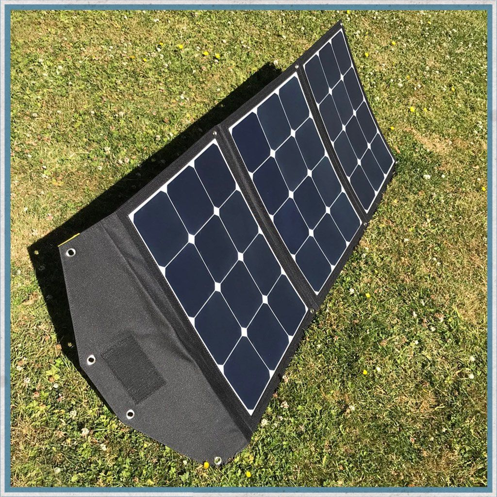 Tourer Tragbares Solarpanel Kit 120w 12v In 2020 Portable Solar Panels Solar Panel Kits Solar Panels