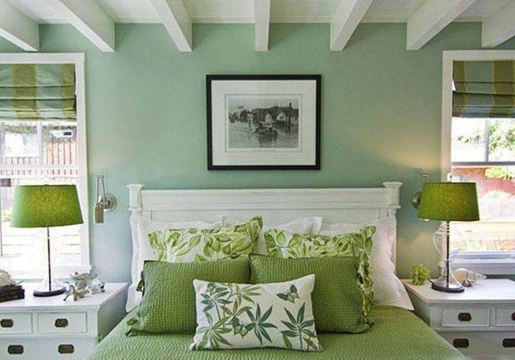 Amazing Green Color Walls Inspirations Green Bedroom Walls Mint