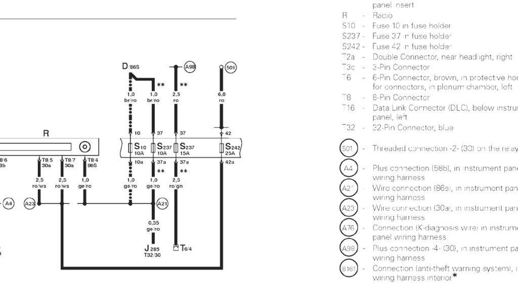 2010 Jetta Radio Wiring Diagram